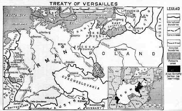 the treaty of versailles in the europe during the 20th century The versailles treaty, signed on june 28, 1919 in the hall of mirrors in the palace of versailles in paris, was the peace settlement between germany and the allied powers that officially ended world war i.